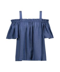 Tanya Taylor | Laura Off-The-Shoulder Chambray Top