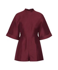 Valentino | Cotton And Silk-Blend Playsuit