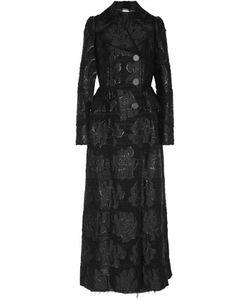 Alexander McQueen | Metallic Bouclé-Jacquard Coat