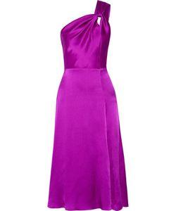Cushnie Et Ochs | One-Shoulder Silk-Charmeuse Dress