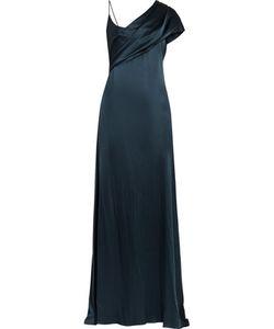 Cushnie Et Ochs | Zahara Draped Silk-Charmeuse Gown