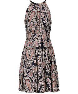 L'agence | Alyse Printed Silk-Chiffon Dress