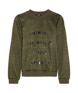 Anthony Vaccarello | Printed Jersey Sweatshirt