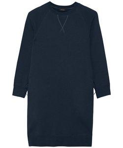 Nlst   Cotton-Blend Fleece Mini Dress