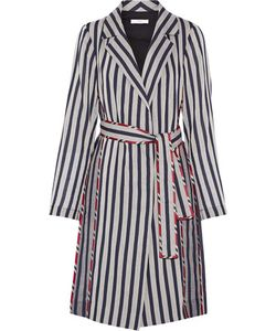 Tome | Striped Cotton Shirt Dress