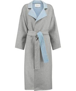 10 Crosby Derek Lam | 10 Crosby By Derek Lam Reversable Wool-Blend Felt Trench Coat