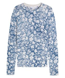 Equipment | Sloane Floral-Print Cashmere Sweater