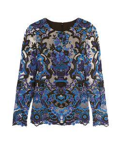 Badgley Mischka | Guipure Lace Top