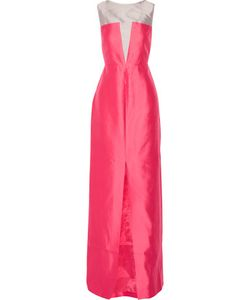 Raoul | Carly Silk And Wool-Blend Gown