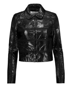 Valentino | Whipstitched Snakeskin Jacket