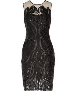Marchesa Notte | Sequin-Embellished Tulle Dress