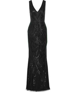 Marchesa Notte | Embellished Tulle Gown