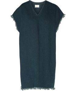 Simon Miller | Alawa Frayed Denim Mini Dress