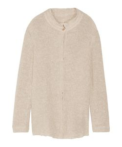Simon Miller | Tassa Distressed Open-Knit Cardigan
