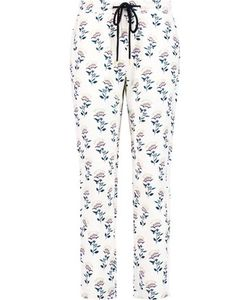Markus Lupfer | Marianne Printed Silk Crepe De Chine Track Pants