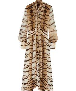 Roberto Cavalli | Cropped Printed Silk Jumpsuit