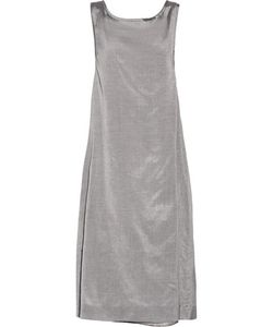 Rochas | Bow-Embellished Silk And Cotton-Blend Dress