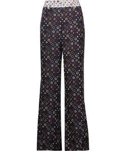 Derek Lam 10 Crosby | Printed Silk Wide-Leg Pants