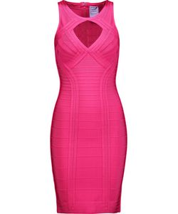 Hervé Léger | Cutout Bandage Mini Dress