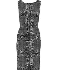 Norma Kamali | Ruched Printed Stretch-Jersey Dress