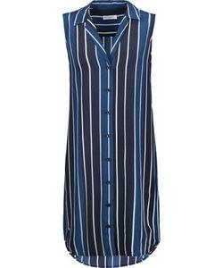 Equipment | Adalyn Striped Washed-Silk Mini Dress