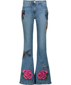 3X1   W25 Embroidered Flared Jeans