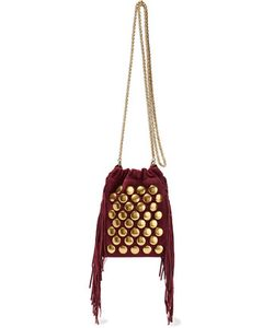 Jérôme Dreyfuss | Gary Small Fringed Suede Shoulder Bag