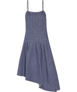 Suno | Asymmetric Denim Dress