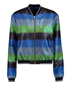Markus Lupfer | Striped Metallic Lamé Jacket