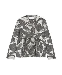 Co | Metallic Jacquard Peplum Jacket Charal