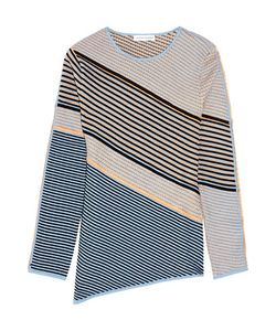 Jonathan Saunders | Jade Textured Cotton-Blend Sweater