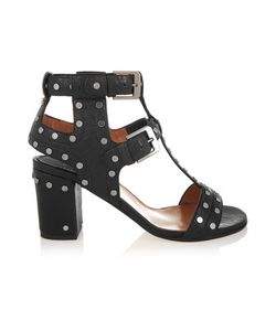 Laurence Dacade | Helie Studded Textured-Leather Sandals