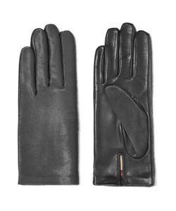 Agnelle | Calf Hair And Leather Gloves