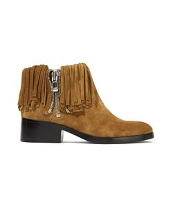 3.1 Phillip Lim | Alexa Fringed Suede Ankle Boots