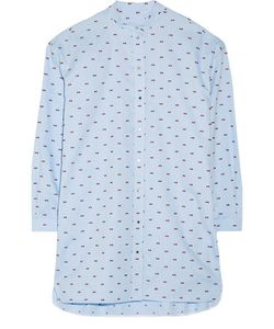 Victoria, Victoria Beckham | Victoria Victoria Beckham Oversized Embroidered Cotton-Piqué Shirt