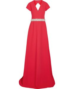 Raoul | Capricia Embellished Cutout Crepe Gown