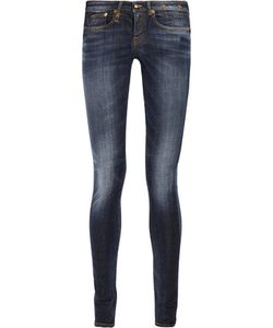 R13   Low-Rise Skinny Jeans