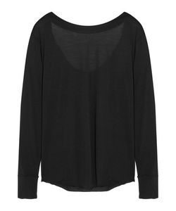 Donna Karan New York | Draped Modal-Blend Jersey Top