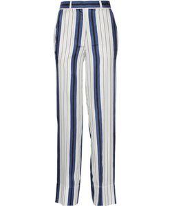 Protagonist | Striped Silk-Twill Wide-Leg Pants