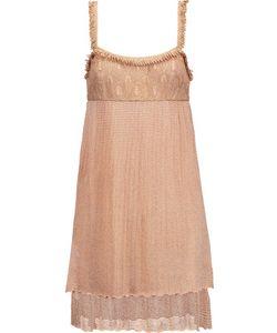 Missoni | Fringed Crochet-Knit Dress