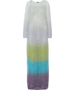Missoni | Metallic Crochet-Knit Kaftan