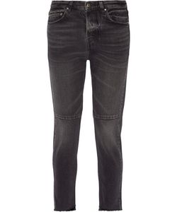 Golden Goose Deluxe Brand | Happy Cropped Mid-Rise Straight-Leg Jeans