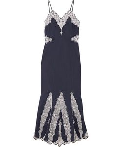 Jonathan Simkhai | Embroidered Cotton-Poplin Dress
