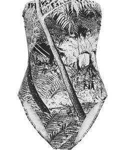 Norma Kamali | Bishop Printed Swimsuit