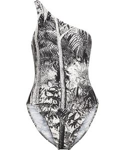 Norma Kamali | One-Shoulder Printed Swimsuit