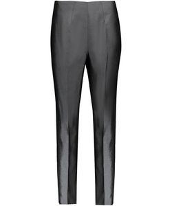 Raoul   Cropped Silk-Blend Satin Slim-Leg Pants