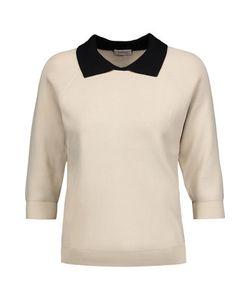 Totême | Ladis Pique Two-Tone Ribbed-Knit Sweater