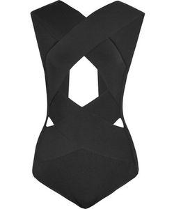 Balmain | Cutout Bandage Bodysuit
