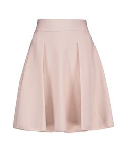 Giambattista Valli | Pleated Stretch-Knit Mini Skirt