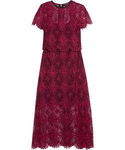 Catherine Deane | Giovanna Layered Guipure Lace Maxi Dress